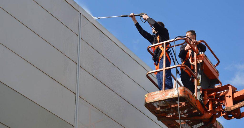 Experts en nettoyage de bâtiments