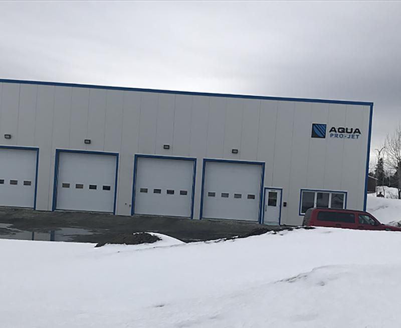 Nouveau bureau pour Aqua Pro-Jet !